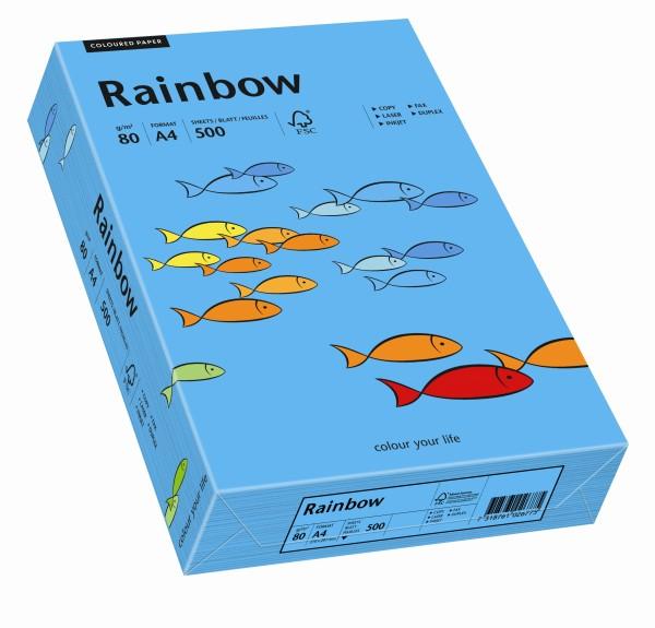 Rainbow blau (S87) - 80 g/qm - DIN A3 BB (297 x 420 mm)