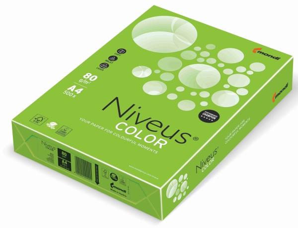 NIVEUS Color maigrün (MA42) - 80 g/qm - DIN A4