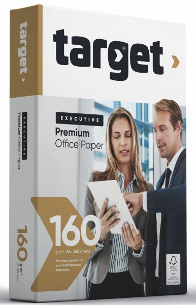 Target Executive Premium - 160g/m² - A4