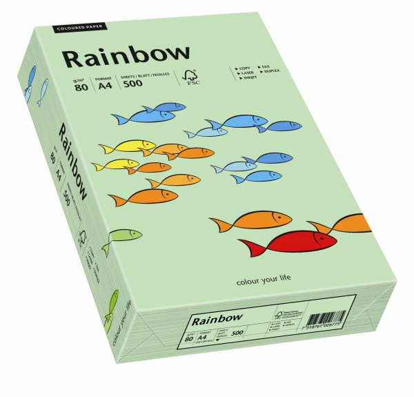 Rainbow mittelgrün (S75) - 120 g/qm - DIN A4