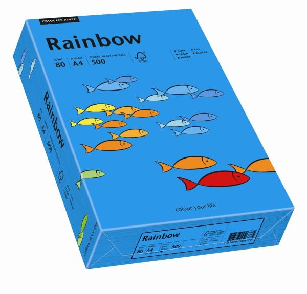 Rainbow intensivblau (S88) - 80 g/qm - DIN A3 BB (297 x 420 mm)