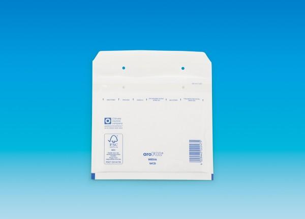 aroFOL Typ CD weiß, Innen: 180 x 165 mm, Außenmaß: 200 x 175 mm