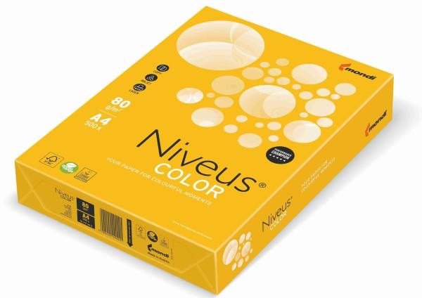 NIVEUS Color sonnengelb (SY40) - 80 g/qm - DIN A4