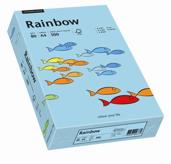 Rainbow mittelblau (S84) - 160 g/qm - DIN A4