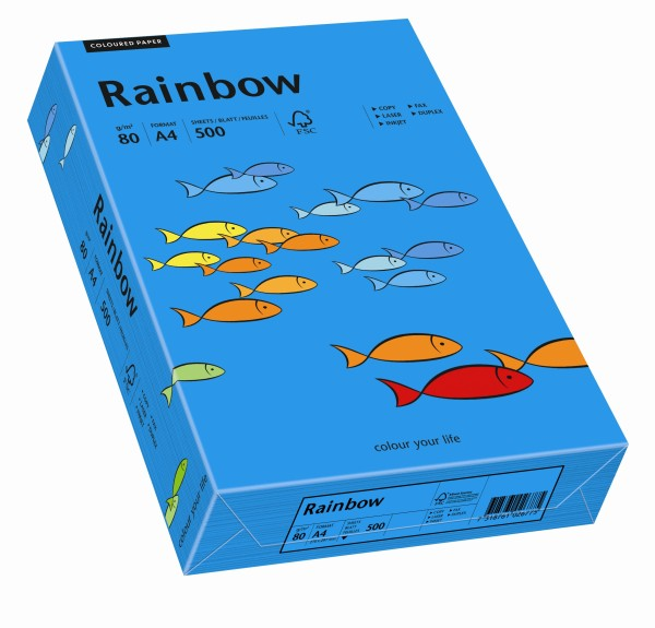 Rainbow intensivblau (S88) - 80 g/qm - DIN A4
