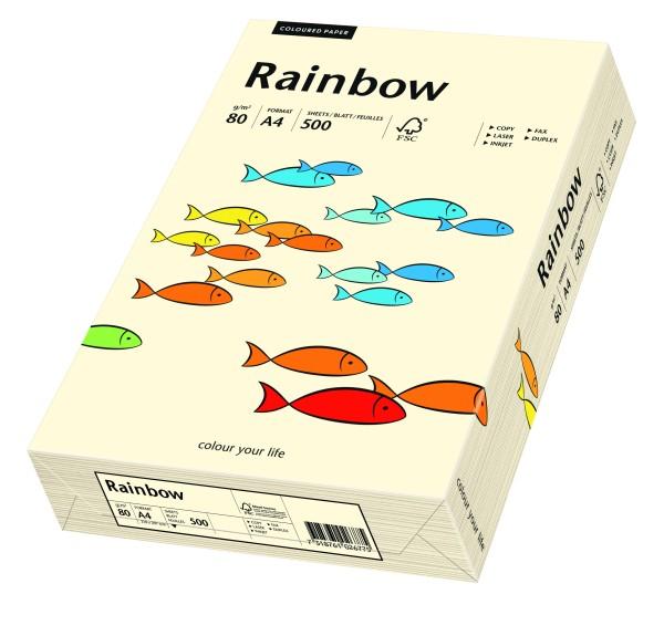 Rainbow hellchamois (S03) - 80 g - DIN A3 BB (297 x 420 mm)
