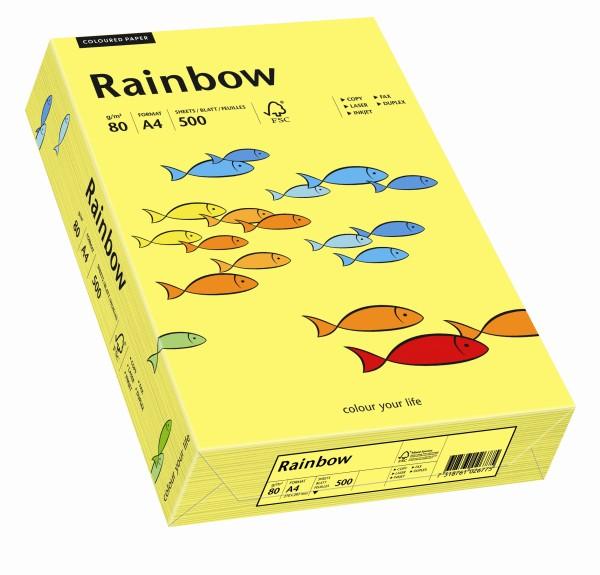 Rainbow mittelgelb (S14) - 80 g/qm - DIN A4