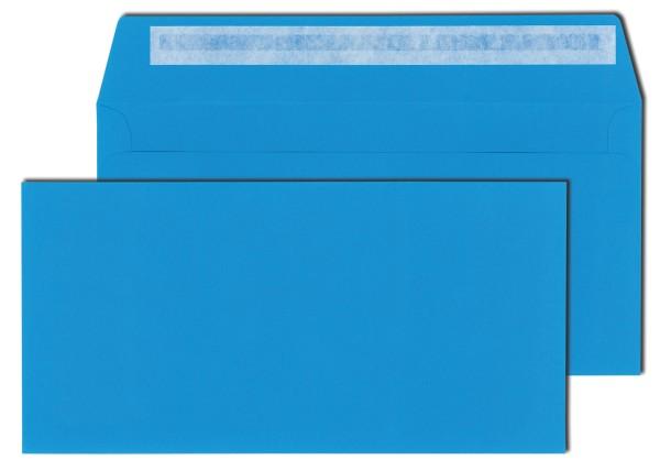 Briefhüllen dunkelblau 120 g DIN C6/5 (114 x 229 mm) haftklebend