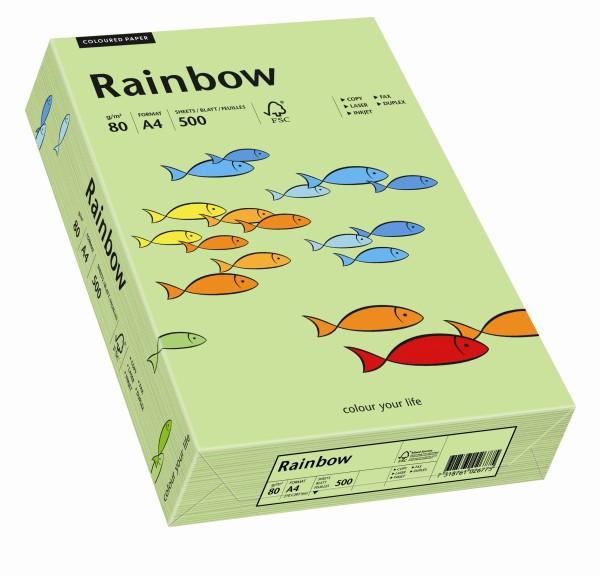 Rainbow leuchtend grün (S74) - 80 g/qm - DIN A4