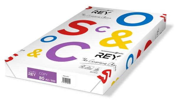 Rey Copy - 80 g/m² - DIN A3 (297 x 420 mm)