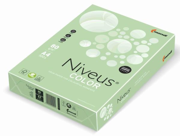 NIVEUS Color mittelgrün (MG28) - 120 g/qm - DIN A4