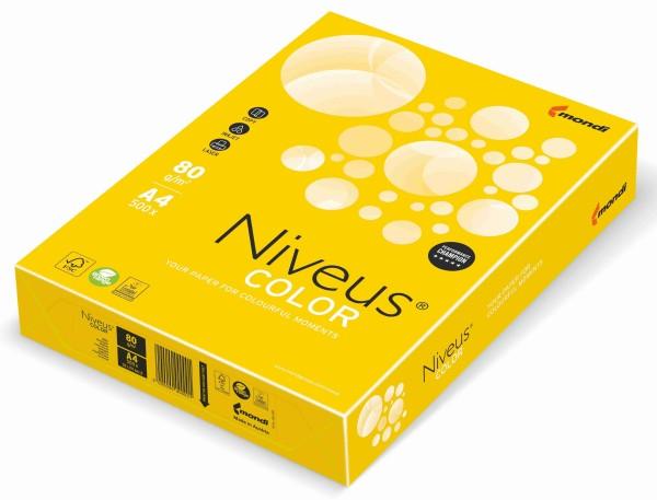 NIVEUS Color intensivgelb (IG50) - 120 g/qm - DIN A4