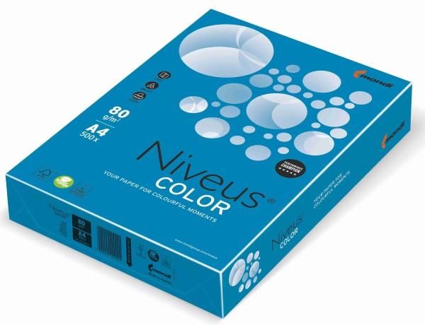 NIVEUS Color tiefblau (DB48) - 160 g/qm - DIN A4