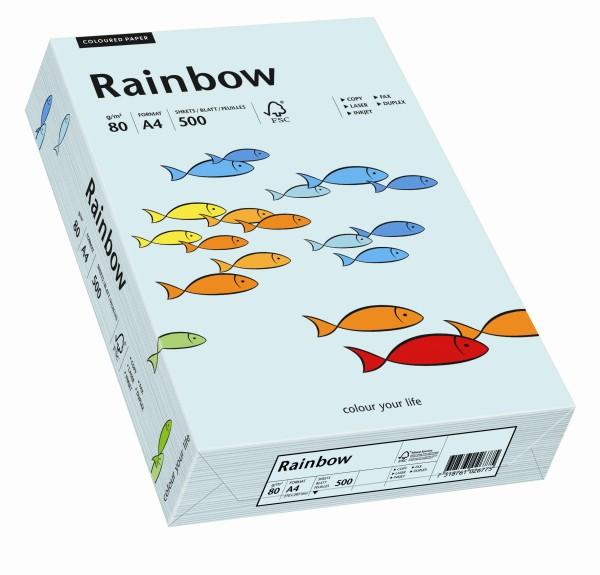 Rainbow hellblau (S82) - 80 g/qm - DIN A4