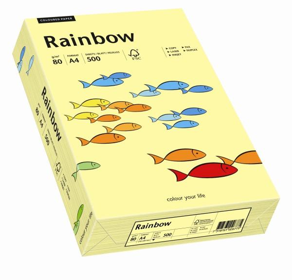 Rainbow hellgelb (S12) - 160 g/qm - DIN A4
