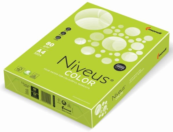 NIVEUS Color lindengrün (LG46) - 80 g/qm - DIN A3 BB (297 x 420 mm)