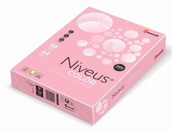 NIVEUS Color rosa (pi25) - 160 g/qm - DIN A4